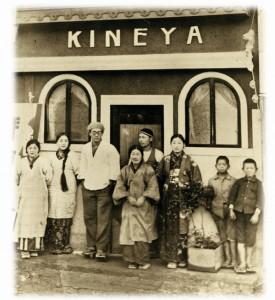 昭和5年新たにカフェを始めた当時の写真。
